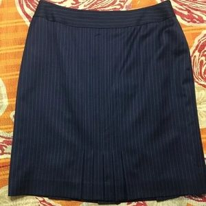 Brooks Brothers 346 Striped Wool Pencil Skirt 12P